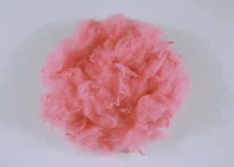 Pink Colored 100% PSF Polyester Staple Fiber 2.5D*65MM With Good Spinning